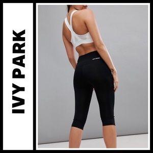Ivy Park Beyoncé cropped leggings NWOT